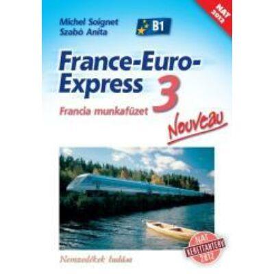 France-Euro-Express Nouveau 3 munkafüzet (NAT)