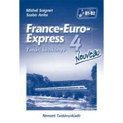 France-Euro-Express 4 Nouveau tanári kézikönyv
