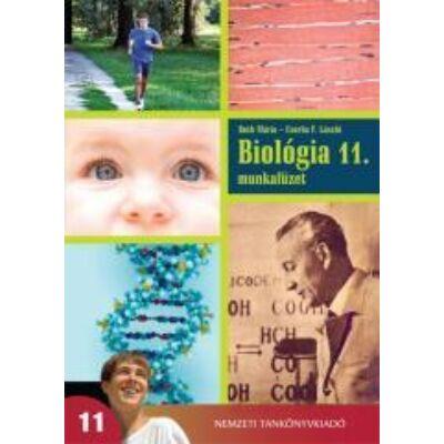 Biológia 11. gimnázium munkafüzet