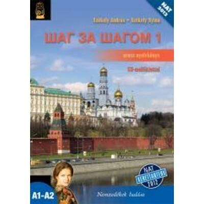 Sag za sagom 1. orosz nyelvkönyv +CD mell.