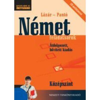 Német feladatsorok Közép +CD mell. (átdolgozott) (NAT)