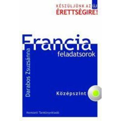 Francia feladatsorok Közép +CD mell.