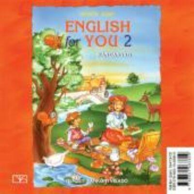 English for you 2. hanganyag CD-n