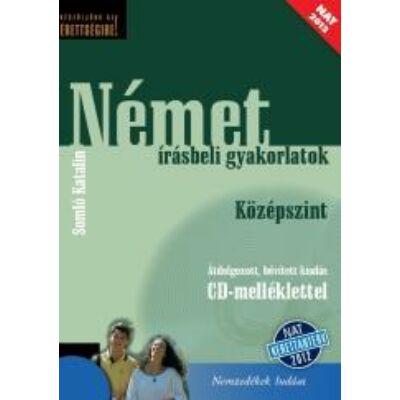 Német írásbeli gyakorlatok Közép +CD mell. (NAT)