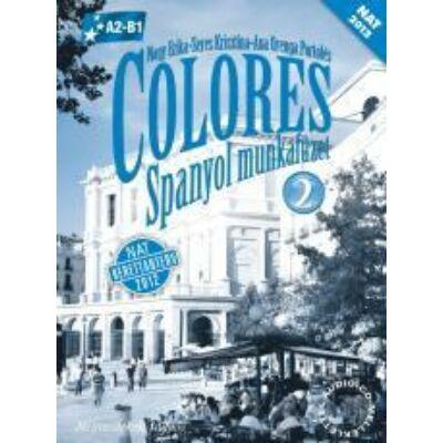 Colores 2 Spanyol munkafüzet CD melléklettel (NAT)