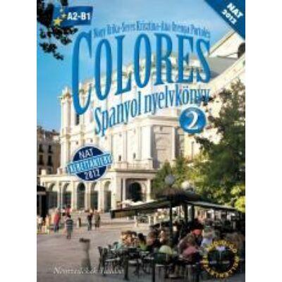 Colores 2 Spanyol nyelvkönyv CD melléklettel (NAT)
