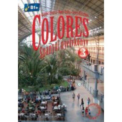 Colores 3. Tankönyv (NAT)