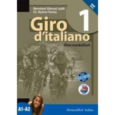 Giro d'italiano 1 olasz munkafüzet (NAT)