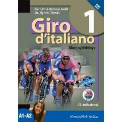 Giro d'italiano 1 olasz nyelvkönyv +CD mell. (NAT)