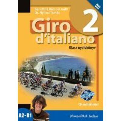 Giro d'italiano 2 olasz nyelvkönyv +CD mell. (NAT)