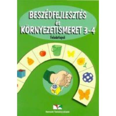 Beszédfejlesztés és környezetismeret 3-4. feladatlapok