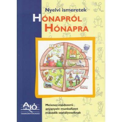 Nyelvi ismeretek HÓNAPRÓL HÓNAPRA Meixner-módszerű anyanyelv munkafüzet második osztályosoknak.