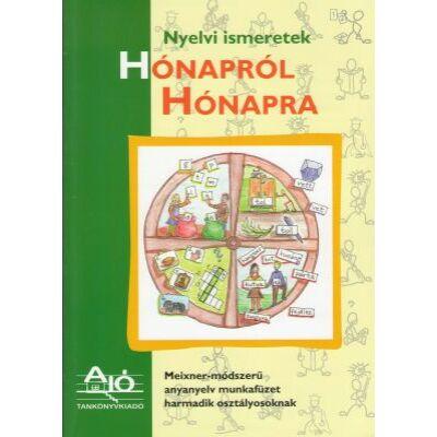 Nyelvi ismeretek HÓNAPRÓL HÓNAPRA Meixner-módszerű anyanyelv munkafüzet harmadik osztályosoknak.