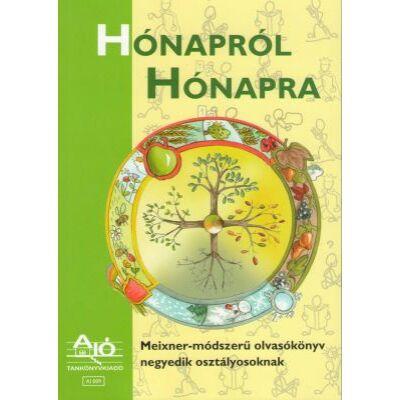 HÓNAPRÓL HÓNAPRA Meixner-módszerű olvasókönyv negyedik osztályosoknak