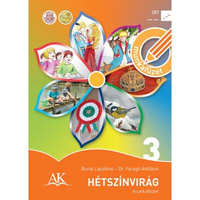 Hétszínvirág munkafüzet 3. a 3. évfolyam számára - Szövegértési felmérőfüzet 3. melléklettel