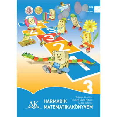 Harmadik matematikakönyvem 3. tankönyv a 3. évfolyam számára
