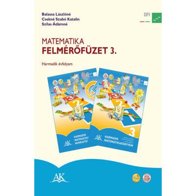 Matematika felmérőfüzet 3. a 3. évfolyam számára