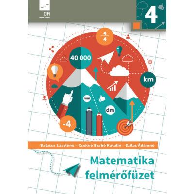 Matematika felmérőfüzet 4.