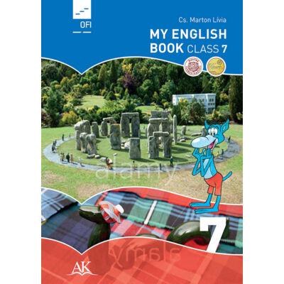 My English Book CLASS 7.