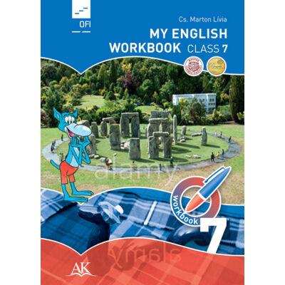 My English Workbook Class 7.