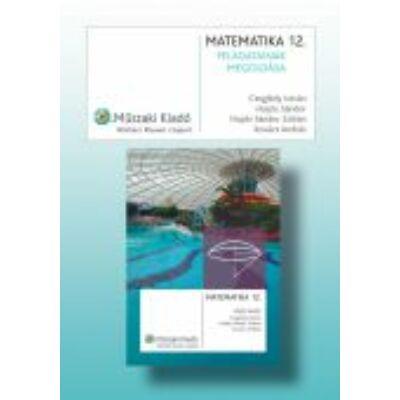 MATEMATIKA 12.;Tankönyv feladatainak megoldása