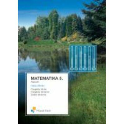 MATEMATIKA 5. TANKÖNYV;Alapszint; 2007-ben átdolgozott