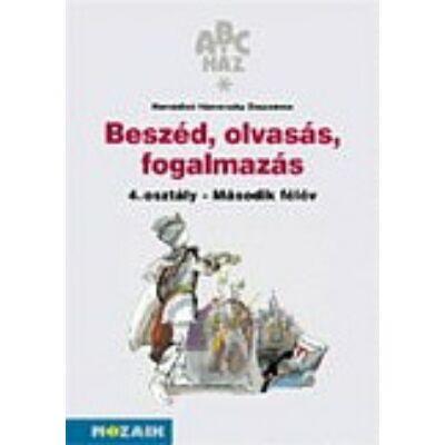 ABC-ház Beszéd, olvasás munkafüzet 4.o. II.