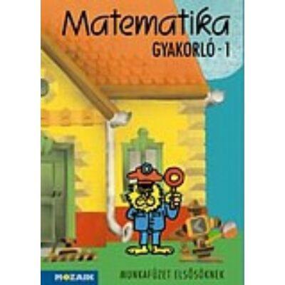 Matematika gyakorló munkafüzet 1.o.