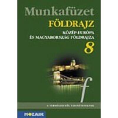 Földrajz 8. - Közép-Európa és Magyarország mf.