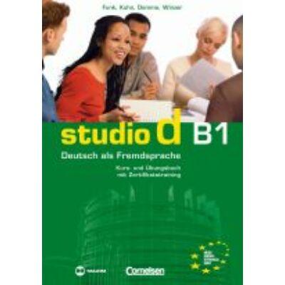 studio d B1 Kurs- und Übungsbuch mit Zertifikatstraining (CD-melléklettel)