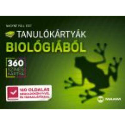 Tanulókártyák biológiából (MX-604)