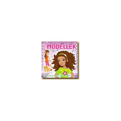 Trendi Modellek II. - kreatív füzet