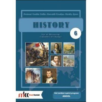 History 6.  – Történelem 6. tankönyv