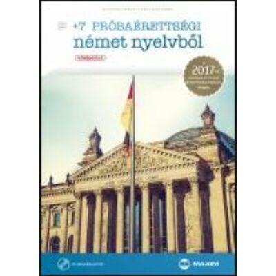 +7 próbaérettségi német nyelvből (középszint) CD-melléklettel (MX-1117)