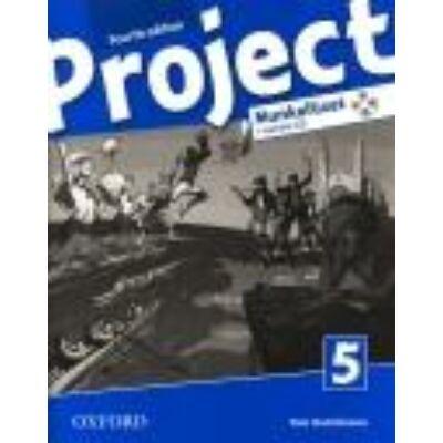 Project 5. munkafüzet + tanulói CD  – 4TH Edition – (HU változat)